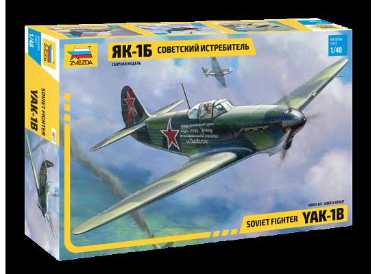 Zvezda 4817 - 1:48 YAK-1B SOVIET FIGHTER