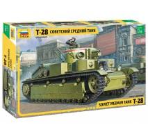 Zvezda 3694 - 1:35 T-28 HEAVY TANK