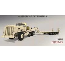 MENG SS-013 - 1:35 U.S. M911 C-HET (8X6) & M747 Heavy Equipment Semi-Trailer