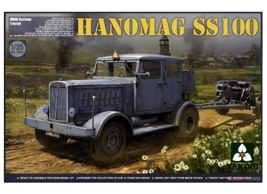TAKOM 2068 - 1:35 WWII German Tractor Hanomag SS100