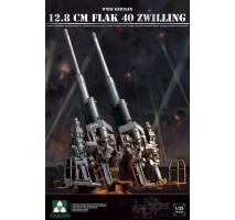 TAKOM 2023 - 1:35 WWII German 12.8 cm FlaK 40 Zwilling