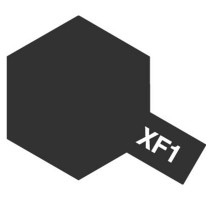 TAMIYA 81301 - XF-1 Flat Black - Acrylic Paint (Metallic) 23 ml