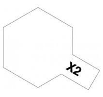 TAMIYA 81002 - X-2 White - Acrylic Paint (Gloss) 23 ml