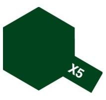 TAMIYA 81005 - X-5 Green - Acrylic Paint (Gloss) 23 ml