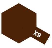 TAMIYA 81009 - X-9 Brown - Acrylic Paint (Gloss) 23 ml
