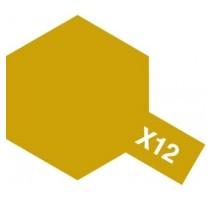 TAMIYA 81012 - X-12 Gold Leaf - Acrylic Paint (Gloss) 23 ml