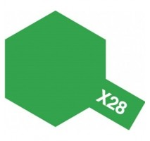 TAMIYA 81028 - X-28 Park Green - Acrylic Paint (Gloss) 23 ml