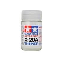 TAMIYA 81030 - X-20A Acrylic Thinner TAMIYA (46ml)
