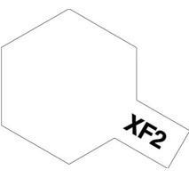 TAMIYA 81302 - XF-2 Flat White - Acrylic Paint (Metallic) 23 ml