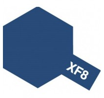 TAMIYA 81308 - XF-8 Flat Blue - Acrylic Paint (Flat) 23 ml