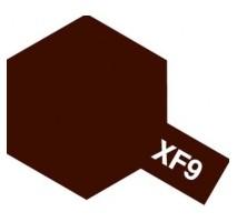 TAMIYA 81309 - XF-9 Hull Red - Acrylic Paint (Flat) 23 ml