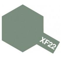 TAMIYA 81322 - XF-22 RLM Grey - Acrylic Paint (Flat) 23 ml