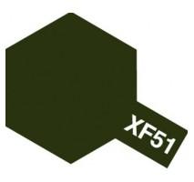 TAMIYA 81351 - XF-51 Khaki Drab - Acrylic Paint (Flat) 23 ml