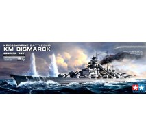 TAMIYA 78013 - 1:350 German Battleship Bismarck