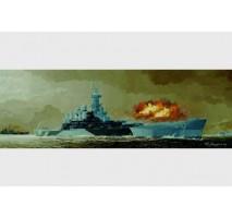 Trumpeter 05303 - 1:350 USS BB-55 North Carolina battleship