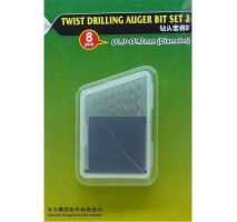 MasterTools 09955 - Twist Drilling Auger Bit set (#2 1.0-1.7 mm)