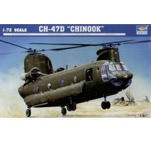 Trumpeter 01622 - 1:72 CH-47D CHINOOK