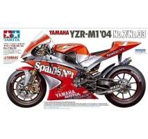 TAMIYA 14100 - 1:12 Yamaha YZR-M1'04� No.7/No.33
