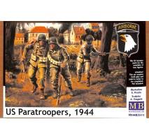 Masterbox 3511 - 1:35 US paratroopers (1944) - 3 figures