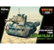 MENG WWT-014 - World War Toons A12 Matilda II - snap-fit