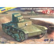 Zvezda 3540 - 1:35 OT-26 Soviet WW2 Flame-Thrower Tank