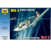 Zvezda 7204 - 1:72 MiG-3 Soviet Fighter