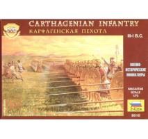 Zvezda 8010 - 1:72 CARTHAGINIAN INFANTRY - 42 figures