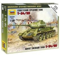 Zvezda 6160 - 1:100 Soviet Tank T-34-85