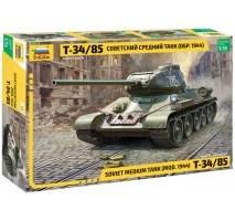 Zvezda 3687 - Soviet T-34-85 (new molds) 1:35