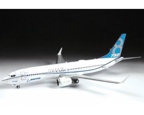 "Zvezda 7026 - 1:144 Passenger airliner ""Boeing 737-8 MAX"""