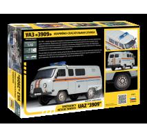 Zvezda 43002 - 1:43 UAZ 3909 Emergency Rescue Service