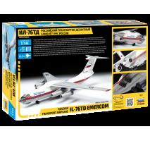 """Zvezda 7029 - 1:144 IL-76 TD """"EMERCOM"""""""