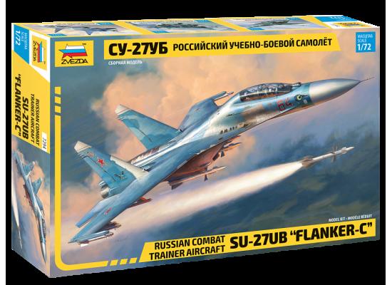 Zvezda 7294 - 1:72 SUKHOI SU-27 UB