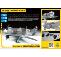 Zvezda 4801 - 1:48 La-5 FN Soviet Fighter