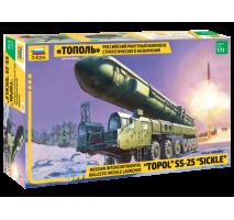 """Zvezda 5003 - 1:72 TOPOL """"M"""" Missile Launcher"""