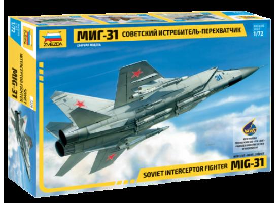 Zvezda 7229 - 1:72 Soviet Interceptor MIG-31