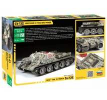 Zvezda 3691 - 1:35 SU-122 SELF PROPELLED GUN