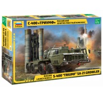 """Zvezda 5068 - 1:72 S-400 """"TRIUMF"""" MISSILE SYSTEM"""