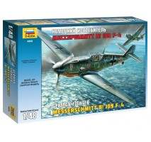 Zvezda - Macheta avion german Messerschmitt BF-109 F4 1:48
