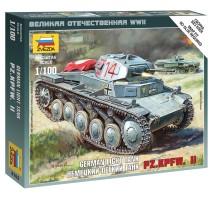 Zvezda 6102 - 1:100 GERMAN TANK PANZER II