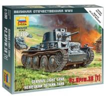 Zvezda 6130 - 1:100 Panzer 38t Light Tank