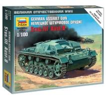 Zvezda 6155 - 1:100 STUG III Ausf B