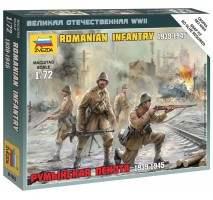 Zvezda 6163 - Romanian infantry set 1:72