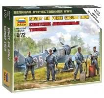 Zvezda 6187 - Soviet airforce ground crew 1:72