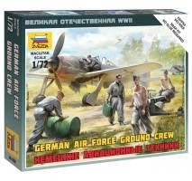 Zvezda 6188 - 1:72 German airforce ground crew - 5 figures