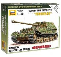 Zvezda 6195 - 1:100 Sd.Kfz.184 Ferdinand Heavy Tank Destroyer