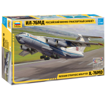 Zvezda - Macheta avion rusesc de transport strategic airlifter IL-76MD 1:144
