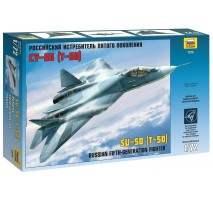 Zvezda - Macheta avion Rusesc Sukhoi T-50 1:72
