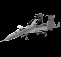 Zvezda - Macheta avion Rusesc SU-33 Flanker D 1:72