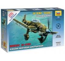 Zvezda - Macheta avion German Ju-87B2 Stuka 1:72